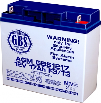 AGM Battery GBS1217T3 12V 17Ah