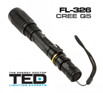 LED Flashlight FL-326 TED Lighting Experts