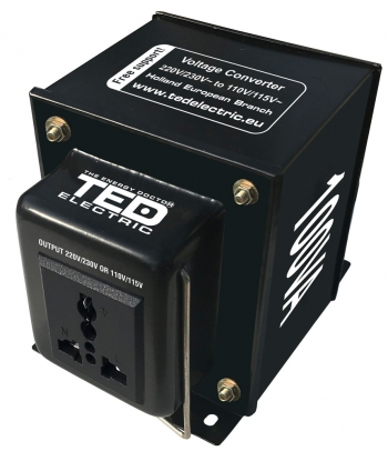 100VA - 230V to 110V TED Voltage Converter