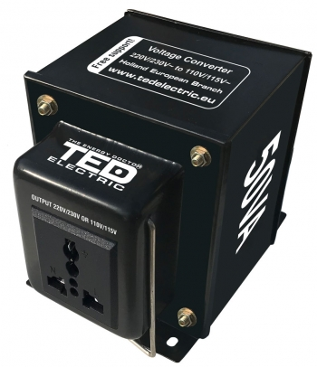 50VA - 230V to 110V TED Voltage Converter
