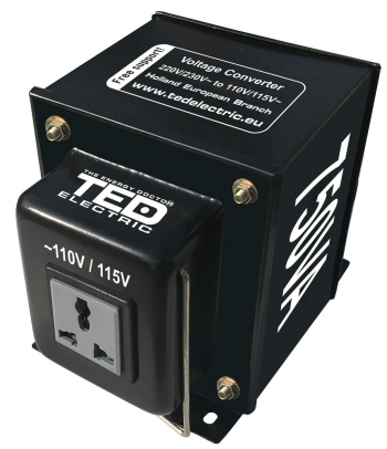750VA - 230V to 110V TED Voltage Converter