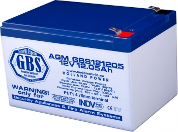 AGM Battery GBS121205F1 12V 12.05Ah